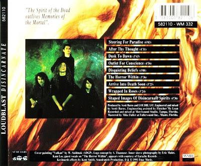 Disincarnate 1991