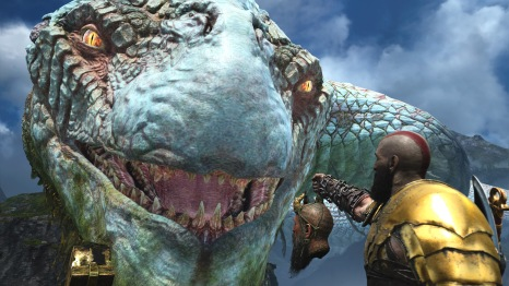 God of war 2018 review - God of war jormungandr ...
