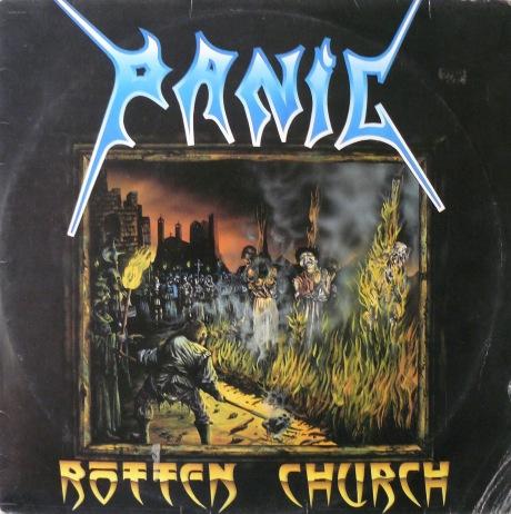 Rotten Church - Capa