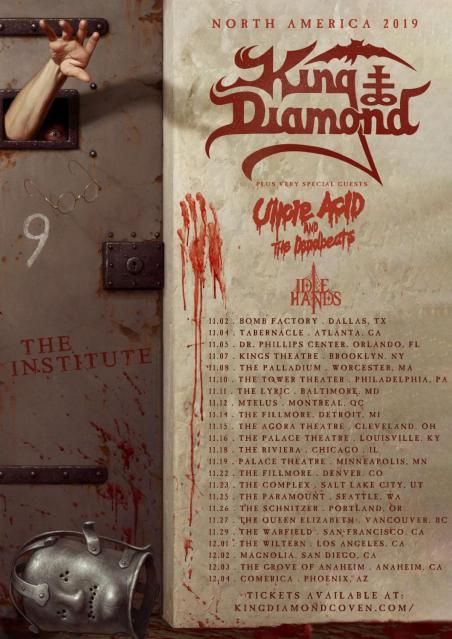 King Diamond Tour Admat North America-min